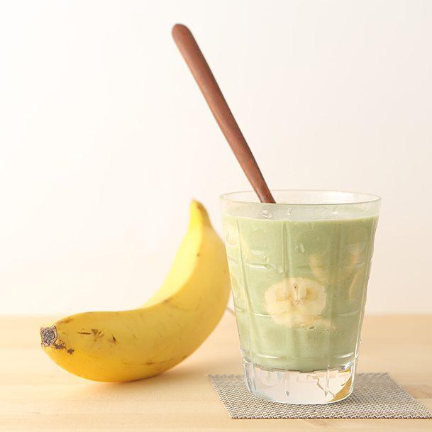 バナナと牛乳のスムージー